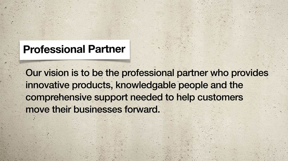 Professional Partner Statement