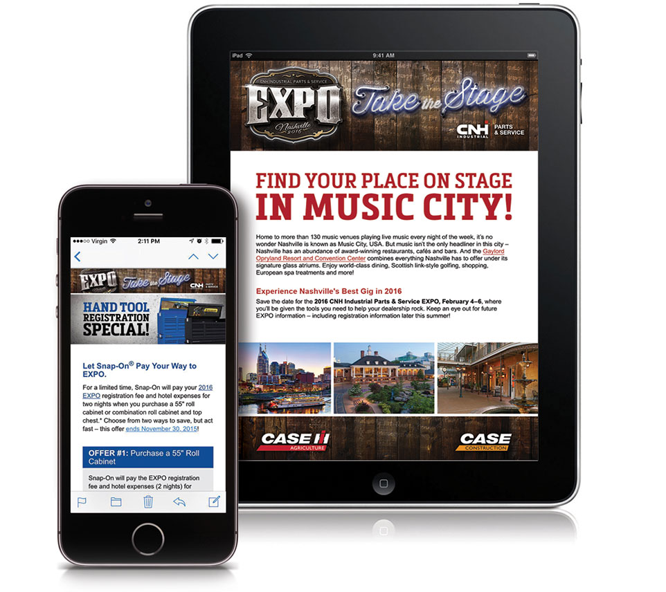 Expo Mobile Website