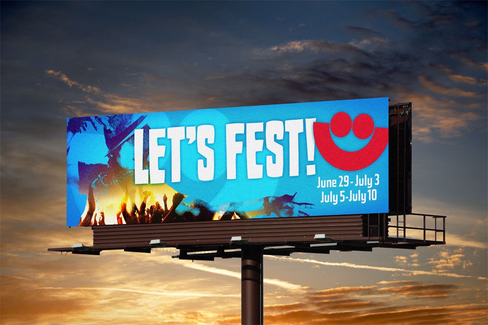 Summerfest Billboard