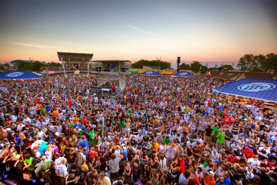 Summerfest Crowd